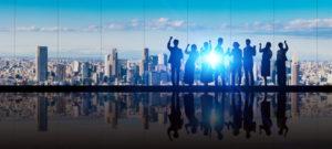 ビジネスグループ チームワーク